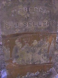 Rebecca <i>Fowler</i> Sellers