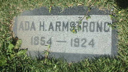 Ada H Armstrong