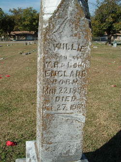 Willie England