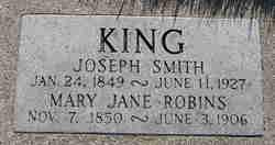 Mary Jane <i>Robins</i> King
