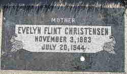Evelyn <i>Flint</i> Christensen