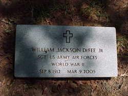 William Jackson DeFee, II