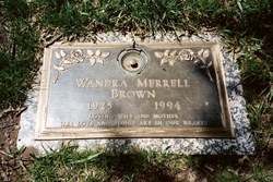 Wandra <i>Merrell</i> Brown