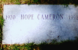 Hope Cameron