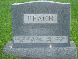 Nora <i>Nelson</i> Peach