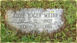 Addie Hager <i>Carpenter</i> Miller