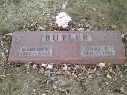 Martha E Butler