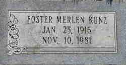 Foster Merlen Kunz