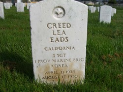 Sgt Creed Lee Eads