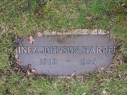 Inez <i>Johnson</i> Harper