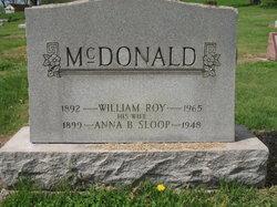 Anna B <i>Sloop</i> McDonald