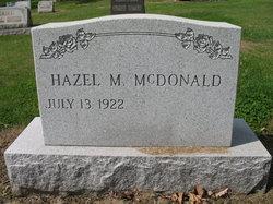 Hazel M McDonald