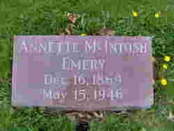 Annette <i>McIntosh</i> Emery