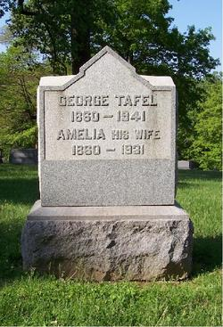 Amelia Frieda <i>Kirves</i> Tafel