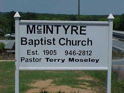 McIntyre Baptist Church Cemetery