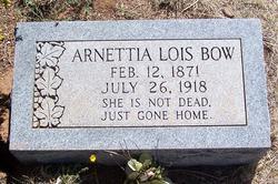 Arnettia Lois Bow