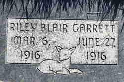 Riley Blair Garrett