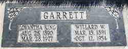 Lovantha Isabelle <i>King</i> Garrett