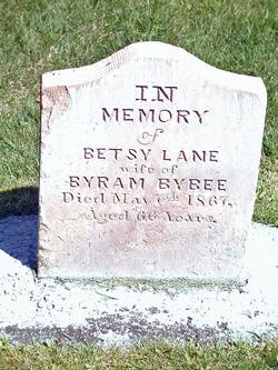 Elizabeth Ann Betsy <i>Lane</i> Bybee