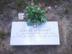Pvt Samuel Merrill Raney