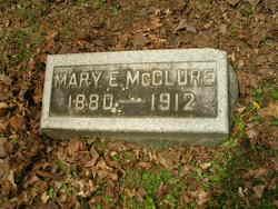 Mary Edith <i>Evans</i> McClure