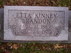 Etta <i>Kinney</i> Brandon