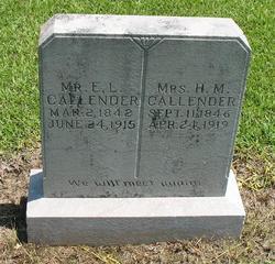 Harriet Melinda <i>Griffing</i> Callender