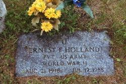 Ernest F Holland