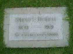 Sarah E <i>Pringle</i> Murray