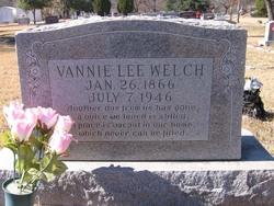 Vannie Lee <i>Wofford</i> Welch