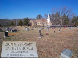 Zion Missionary Baptist Church Cemetery