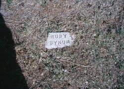 Ruby <i>Littrell</i> Bynum