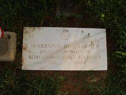 Maryann <i>Jones</i> Buhringer