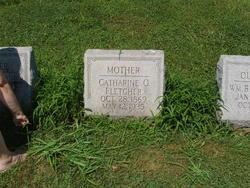 Catherine Orianna <i>Shields</i> Fletcher