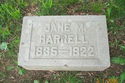 Jane M. <i>Malin</i> Harrell