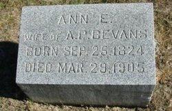 Ann E <i>Stafford</i> Bevans