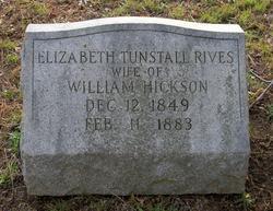 Elizabeth Tunstall <i>Rives</i> Hickson