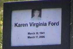 Karen Virginia <i>Wachter</i> Ford