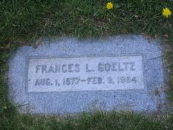 Frances Lelia <i>Boydell</i> Goeltz