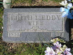 Edith Lillian <i>Steigman</i> Eddy