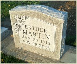 Velma Esther Esther <i>Frank</i> Martin