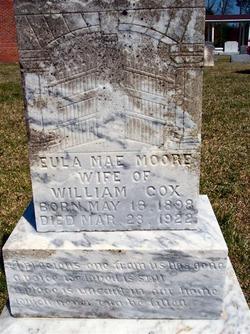 Eula Mae <i>Moore</i> Cox