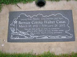 Bernice Corina <i>Walter</i> Casas