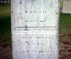 Sarah <i>Williams</i> Cushman