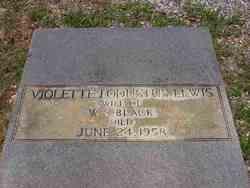 Violette Lodustus <i>Lewis</i> Black