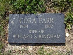 Cora Jane <i>Farr</i> Bingham