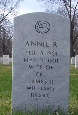 Annie R Williams
