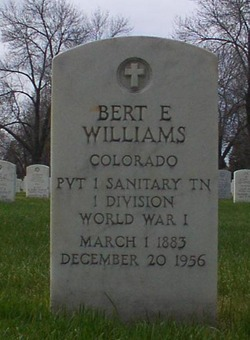 Bert E Williams