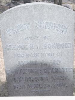 Fanny <i>Hamilton</i> Bowdoin
