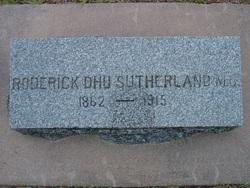 Roderick Dhu Sutherland